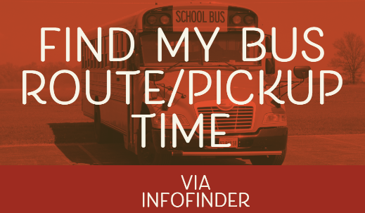 Find my bus route/pickup time